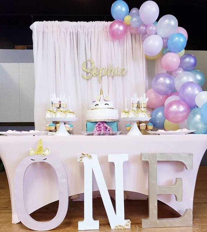 first birthday treat table true story events