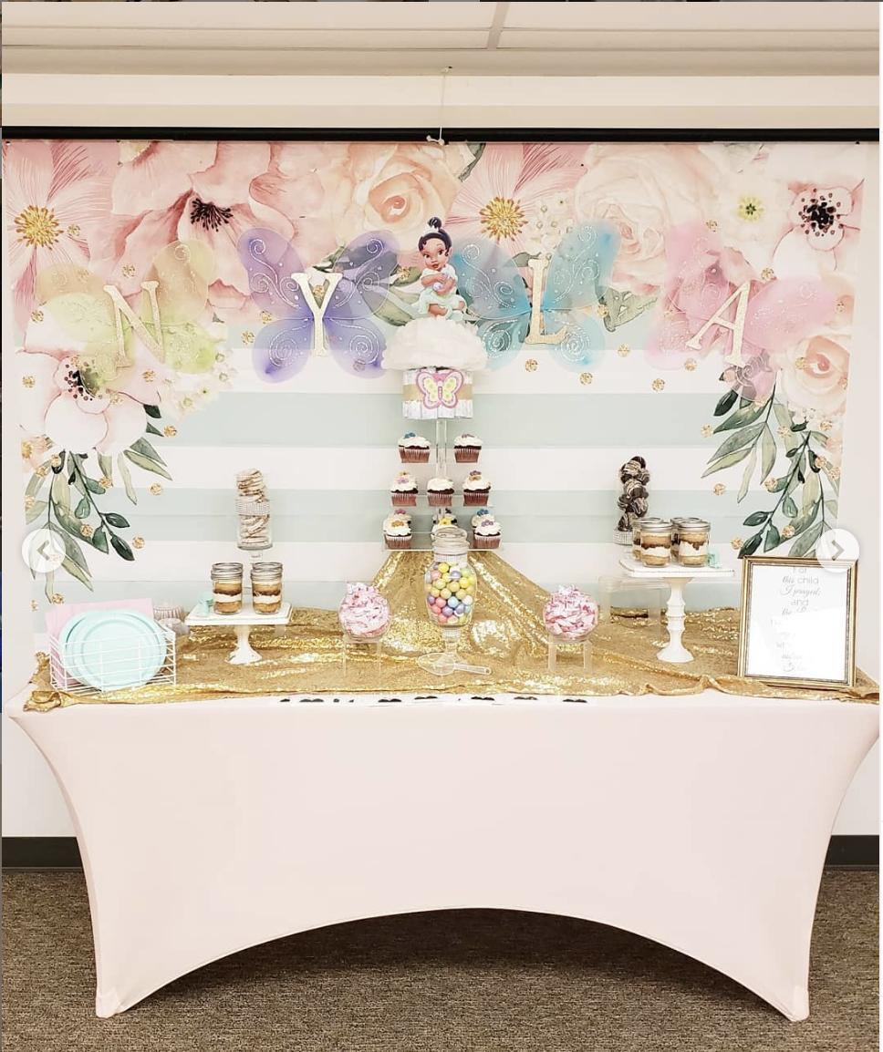 girls birthday treat table true story events